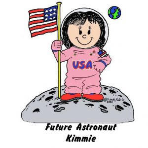 961-FF Future Astronaut, Female, Pink