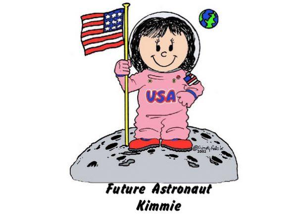961-FF Future Astronaut, Female, Pink