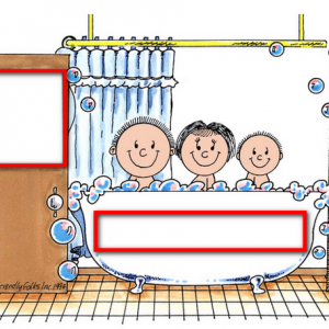 015-FF Tub Time with 1 Child - Personalization - Suggestions