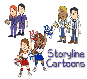 Storyline Caricatures