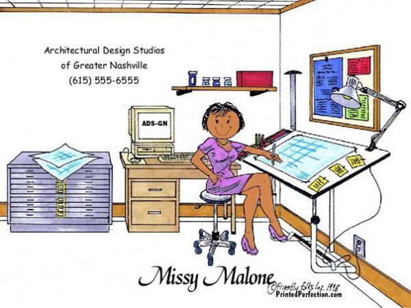 196-FF Architect/Engineer, Female - Dark Skin