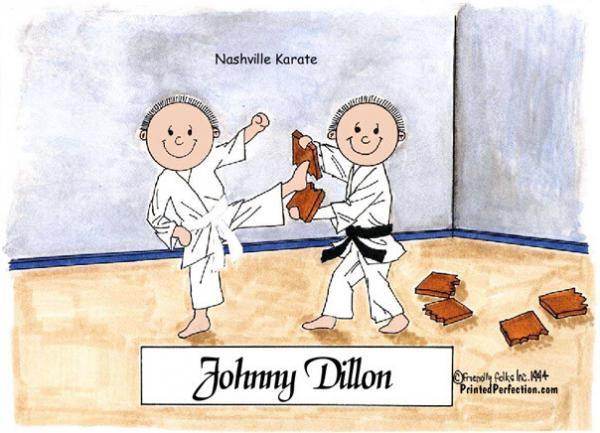 197-FF Karate, Male & Male