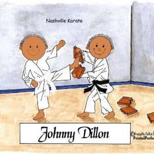 197-FF Karate, Male & Male - Dark Skin