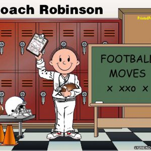 486-FF Coach, Football, Male