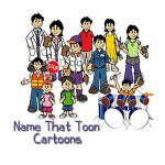 Name That Toon Cartoon Personalization